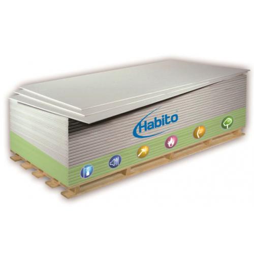 Placa gips-carton cu duritate sporita  Rigips Habito 12.5x1200x2600 mm