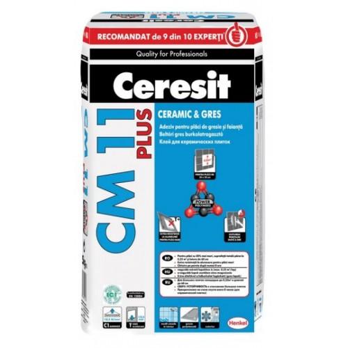 Adeziv pentru gresie si faianta Ceresit CM 11 Plus - 25Kg
