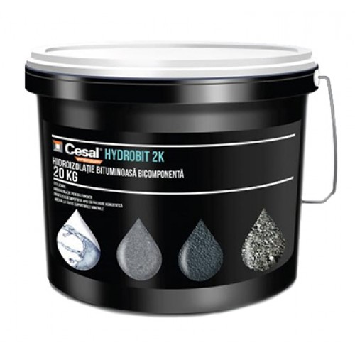 Hidroizolatie bicomponenta bituminoasa Cesal Premium Hydrobit 2k - 20Kg