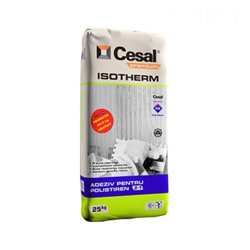 Adeziv pentru polistiren si masa de spaclu Cesal Premium Isotherm - 25Kg