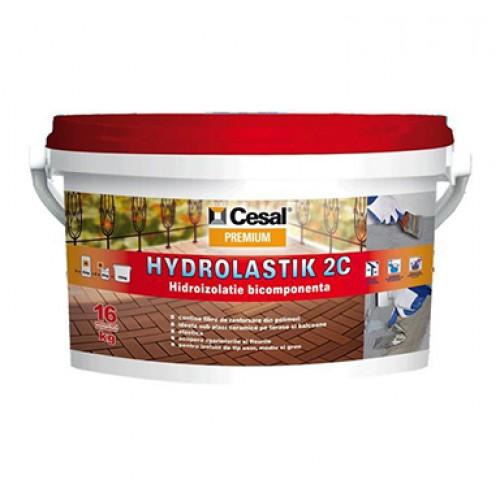 Hidroizolatie bicomponenta Cesal Premium Hydrolastik - 16Kg