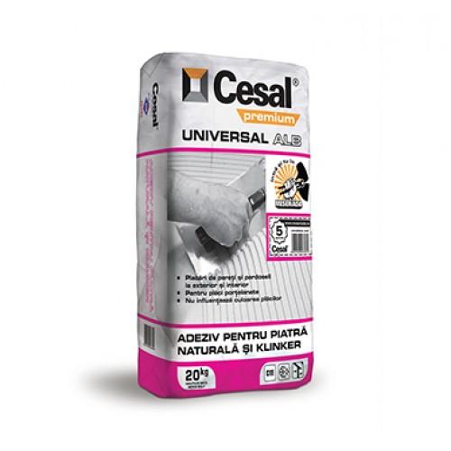 Adeziv pentru placari ceramice Cesal Premium Universal Alb - 20Kg
