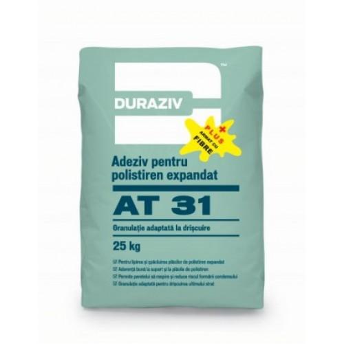 Adeziv si masa de spaclu cu fibre de armare Duraziv AT 31 - 25Kg