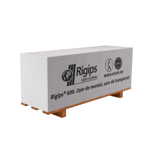 Placa gips-carton Rigips 600 RB 9.5x600x2000 mm