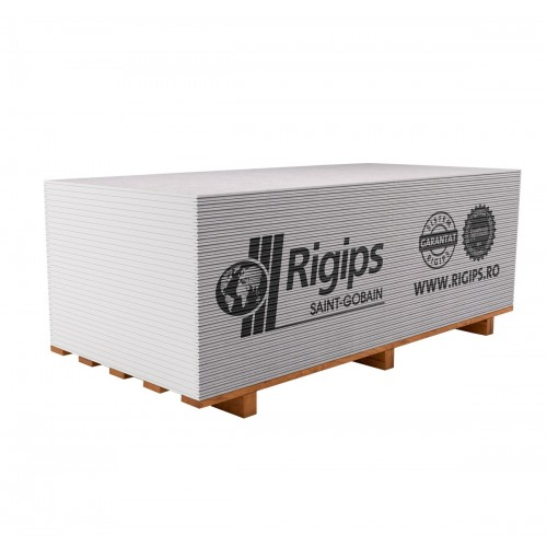 Placa gips-carton Rigips RB 12.5x1200x2600 mm